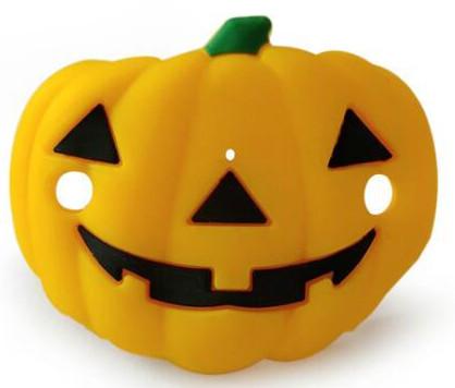 Tétine citrouille spécial halloween