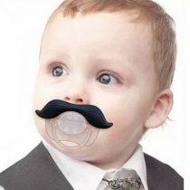 Tétines à moustaches